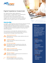 Thumbnail-Digital Experience Assessment